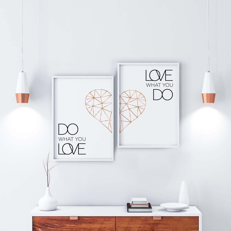 Poster Set Schlafzimmer
