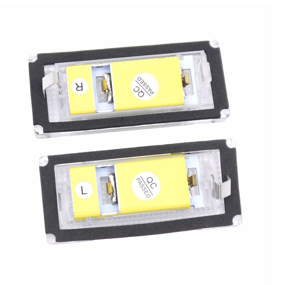 Amazon.com: Polarlander 2pcs 6500K 18 LED SMD License Plate Lights Lamps Bulbs for BMW E46 4D (98-05) 323i 325i 328i 99-03 330xi 330i 325xi: Automotive