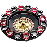 GIFTS INFINITY Drinking Game Glass Roulette - Set (2 Balls 16 Glasses)