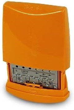 Televes 536041 - Amplificador mástil 12v 3e/1s b3/dab-uu g25db