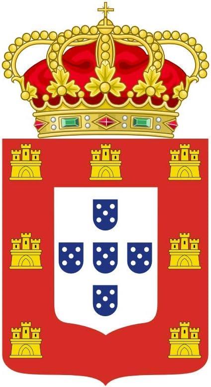 magFlags Bandera Large Imperio Portugués | Bandera Paisaje | 1.35m² | 90x150cm: Amazon.es: Jardín