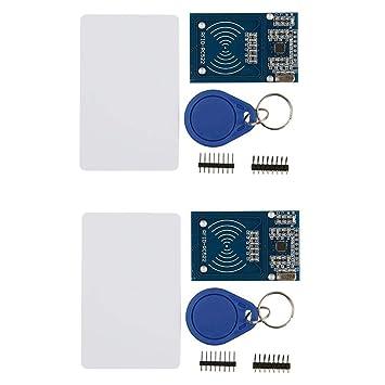 HiLetgo - Kit RFID de 2 Piezas - Mifare RC522 RF IC Tarjeta ...