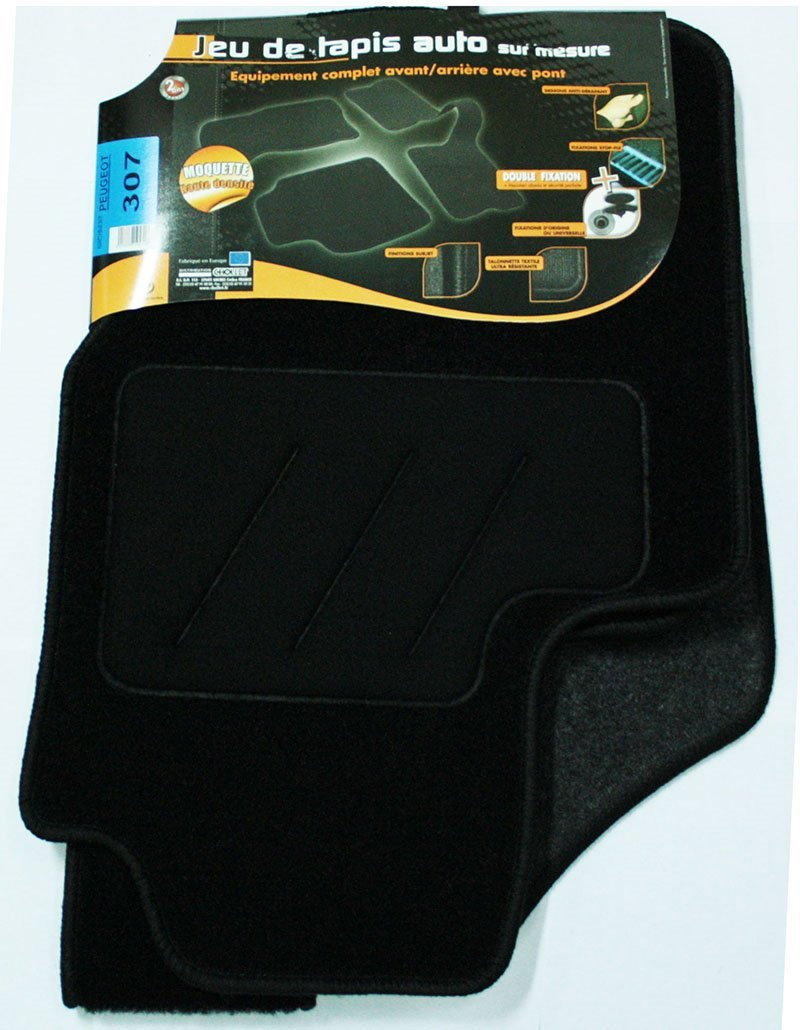 Amazon.es: 3 colchonetas semi fabricados para Peugeot 307 ...