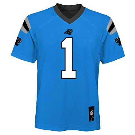 san francisco c721a b76d1 Outerstuff Cam Newton Carolina Panthers #1 Blue Youth Mid Tier Alternate  Jersey