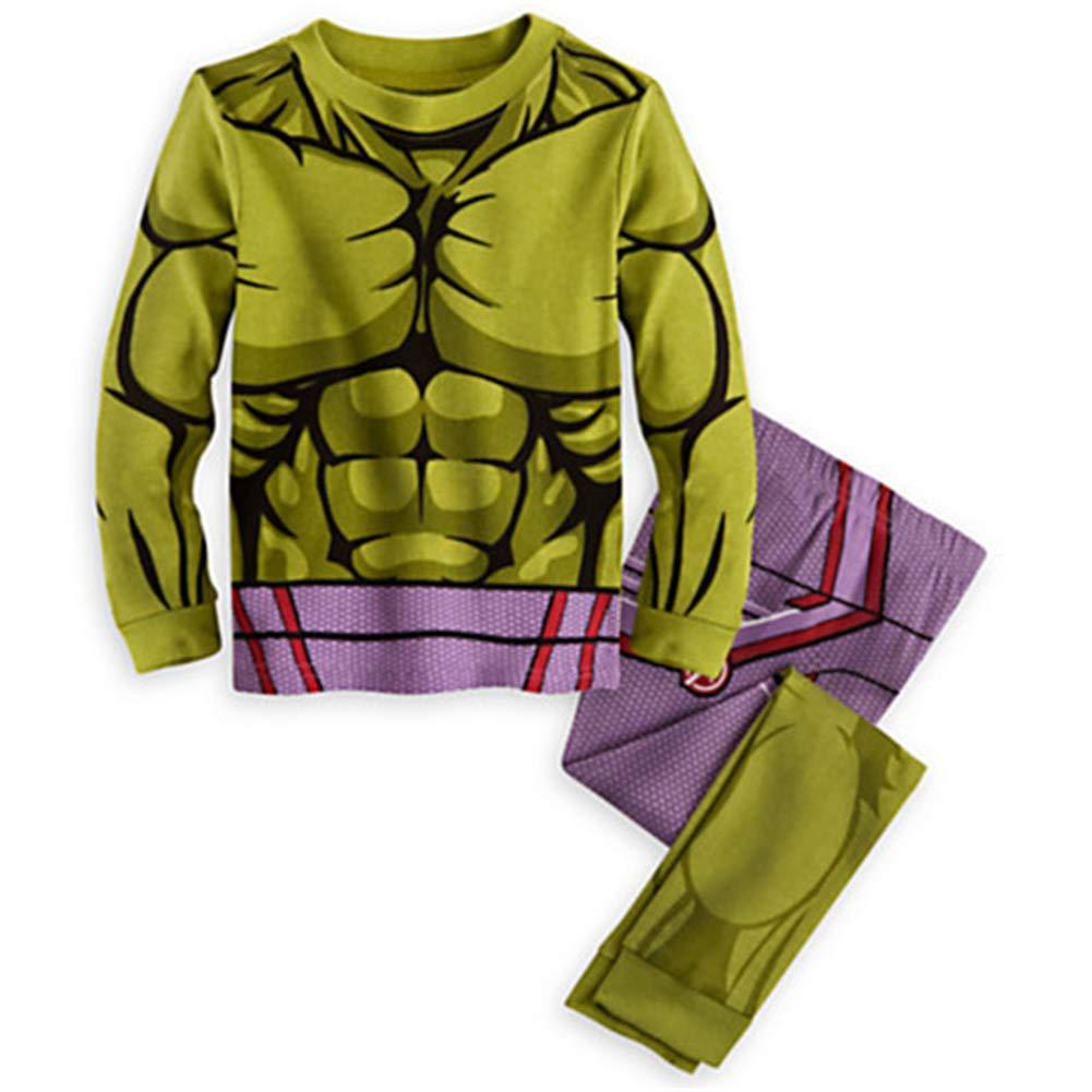 GERGER BO Spiderman Pajamas,Boys Pajamas Kids 100/% Cotton Cartoon Sleepwears