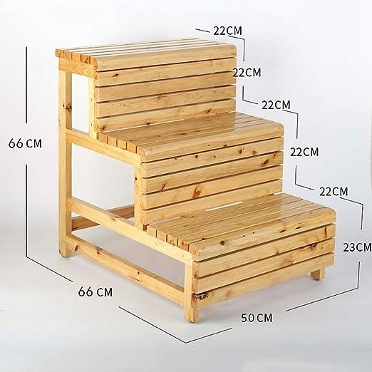 Escalera de madera maciza a prueba de agua resistente a la ...