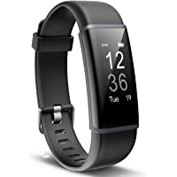 Letscom ID130Plus HR Fitness Tracker (Black)