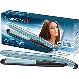 Remington S7300 Wet 2 Straight - Plancha de pelo, cerámica avanzada, uso seco y mojado, placas de 110 mm