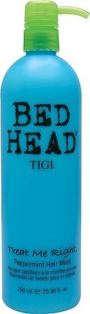 Tigi Bed Head Treat Me Right Hair Mask for Unisex, Peppermint, 25.36 Ounce