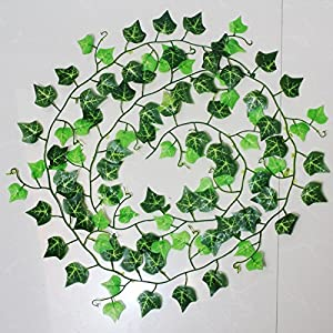 4pcs Artificial Vine Indoor and Outdoor Ivy Garland 7.5ft Artificial Plant for Home and Pary Deco 56