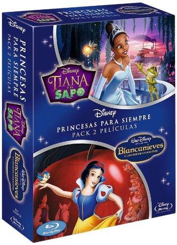 Tiana y el Sapo + Blancanieves y los Siete Enanitos EE DVD: Amazon ...