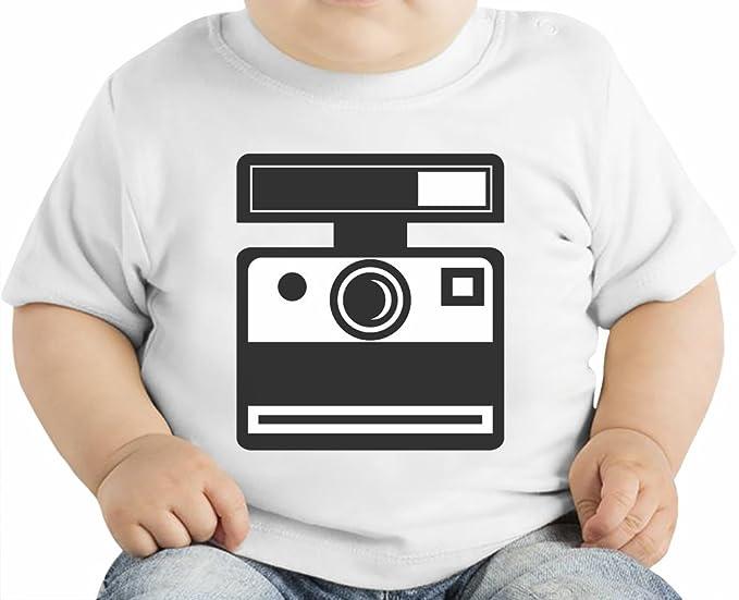 715d94f355 Polaroid Camiseta orgánica bebés 6-12 Months: Amazon.es: Ropa y accesorios