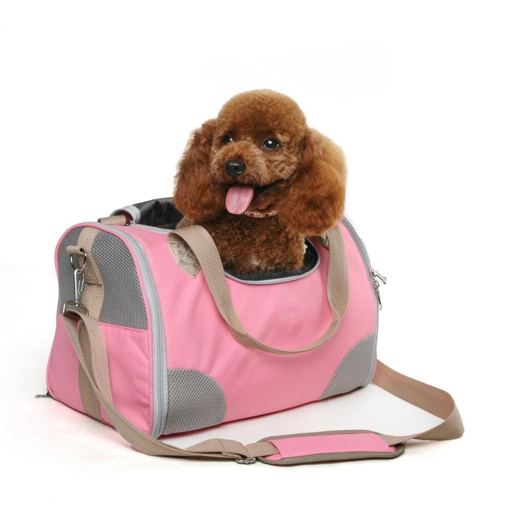 Dixinla Zaino per animali domestici Borsa zaino ragazza cane viaggi all'aria aperta borsa portatile 40  25  26 cm in Nylon