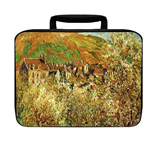 Flowering Apple Trees (Monet) Insulated Lunch Box Bag Flowering Apple