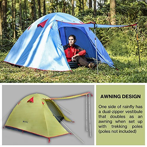 Weanas Professional Backpacking Tent 2 3 4 Person