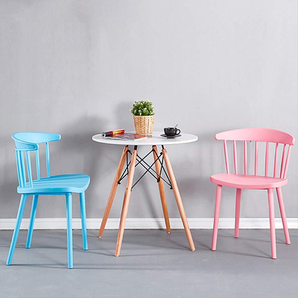 Set med 4 köksstol matstolar sidostol vardagsrum stol - hem och företag - för restaurang sovrum café väntrum mottagningsrum (9 färger) H