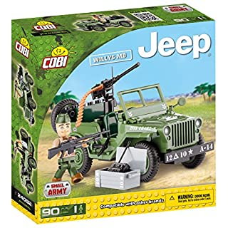 COBI Small Army Jeep Willys MB