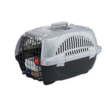 Feplast 73032899W1 Transportín para Gatos y Perros de Talla Pequeña Atlas Deluxe 10, Plástico Robusto