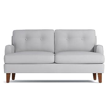 Astounding Amazon Com Virgil Apartment Size Sofa Stone 68 X 38 X Short Links Chair Design For Home Short Linksinfo