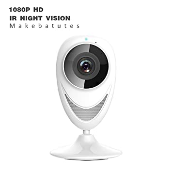 makeb atutes Cámara IP HD Dome Security Cámara con IR Cut Visión Nocturna/de dos