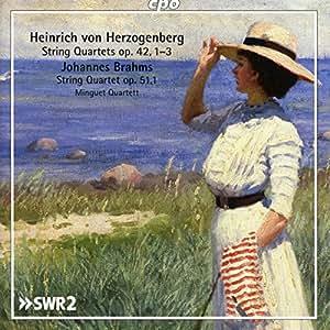Brahms & Herzogenberg: String Quartets, Vol. 2