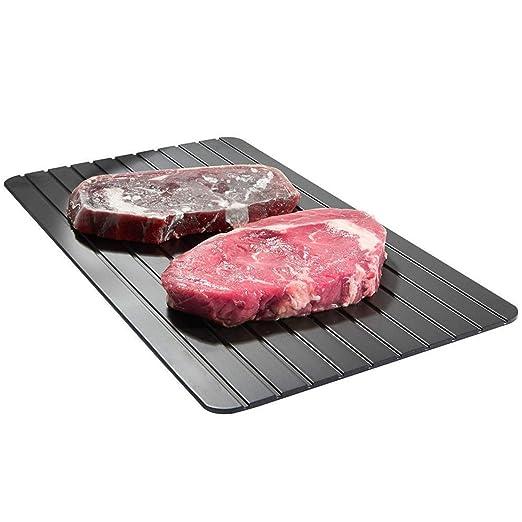 Bandeja de descongelación de aluminio para comida, carne, cerdo ...