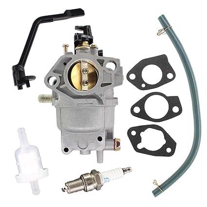 USPEEDA Carburetor for Generac 6672-0 6674-0 RS5500 5500 6875 Watt Gas  Generator