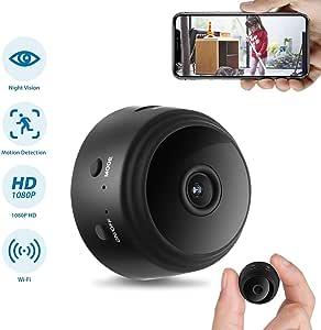 GXSLKWL Hidden Camera, Home Security Camera WiFi Super Night Vision 1080P Wireless Surveillance Camera, 150° Wide-Angle Lens, Nanny Cam Activity Detection Alert, Remote Monitor Phone App