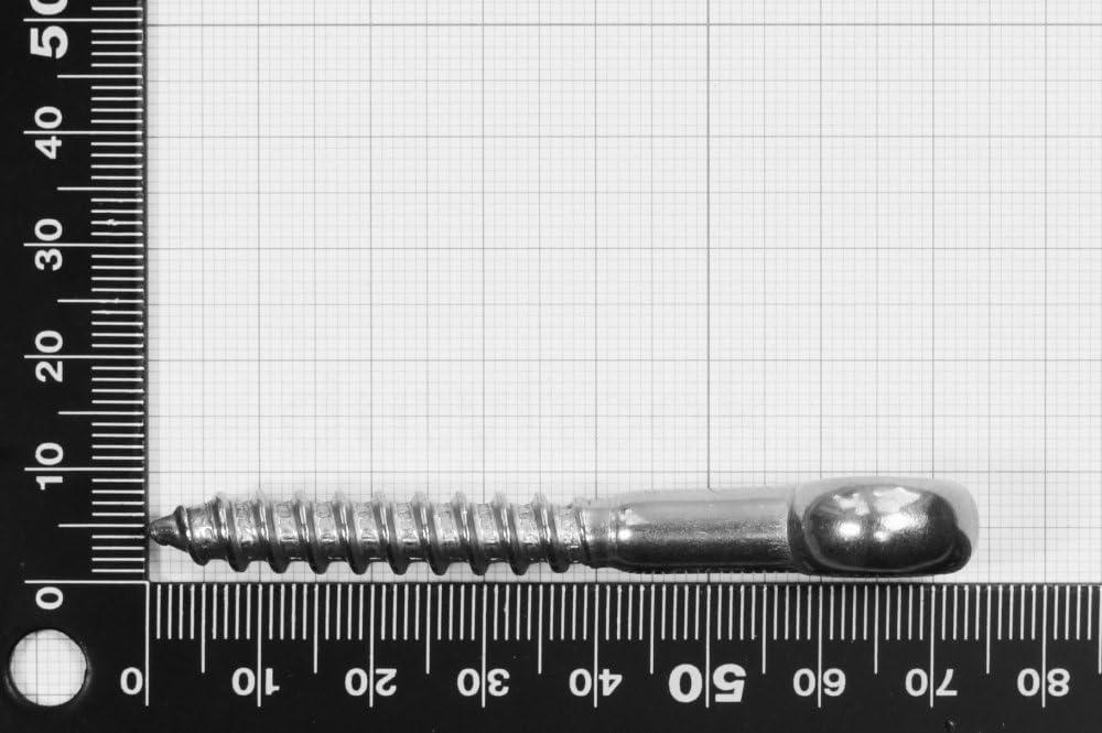 Stainless Steel AISI 316 Dutyhook 6X60 Eye Bolt With Wood Thread