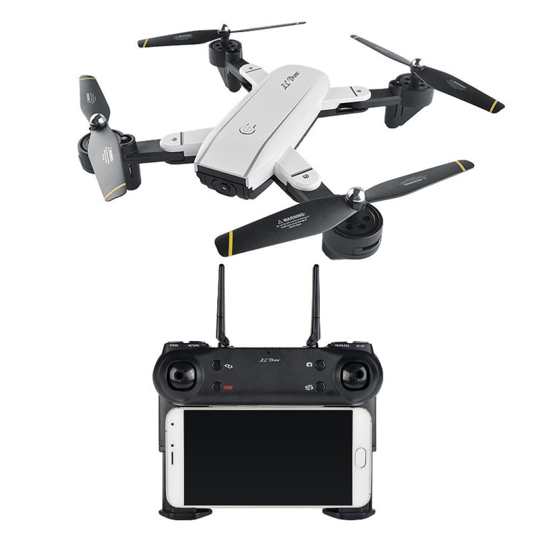 Siviki SG700 Quadcopter Drone 2.4Ghz 4 CH 360° Hold WiFi 2.0MP Optical Flow Dual Camera by Siviki