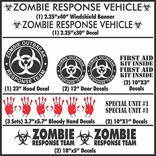 Compare Price To Zombie Response Team Decal Tragerlaw Biz