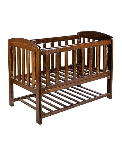 Buy Teak Wood Baby Crib Baby Cot Baby Bed With Mattress Online