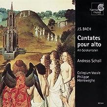BACH. Cantatas for Solo Alto. BWV 35,54,170. A.Scholl. Collegium Vocale, P.Herreweghe