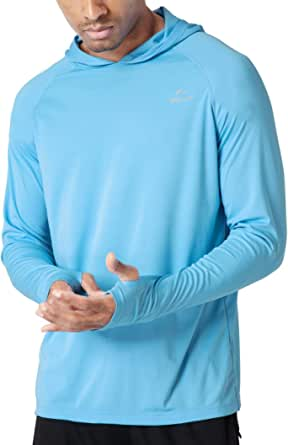 Long Sleeve Rashguard Shirt UV Protection Outdoor Performance T-Shirt Quick-Dry Tee COOFANDY Mens Sun Shirt UPF 50