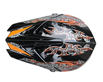SHINA New AHP Motocross Helmet Motocicleta Casco Capacetes Motorcycle Helmet (Black, M)