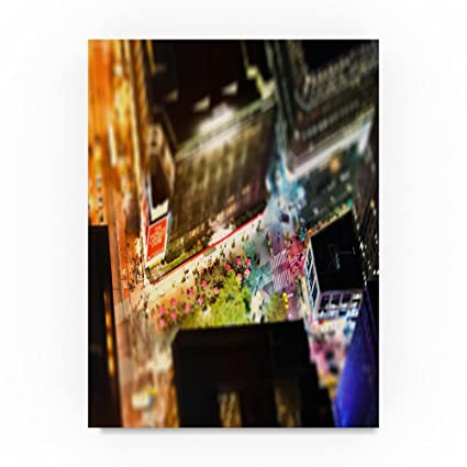Amazon.com: Trademark Fine Art Macys by Night Manhattan by Philippe ...