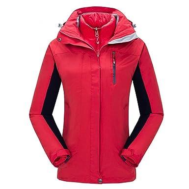 amazon com bosozoku womens 3in1 waterproof jacket winter skiing
