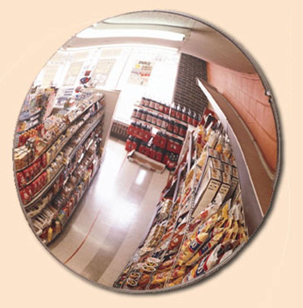 """Indoor Safety Security Acrylic Mirror USA Made Wide View Angle 36"""" Diameter NEW"""