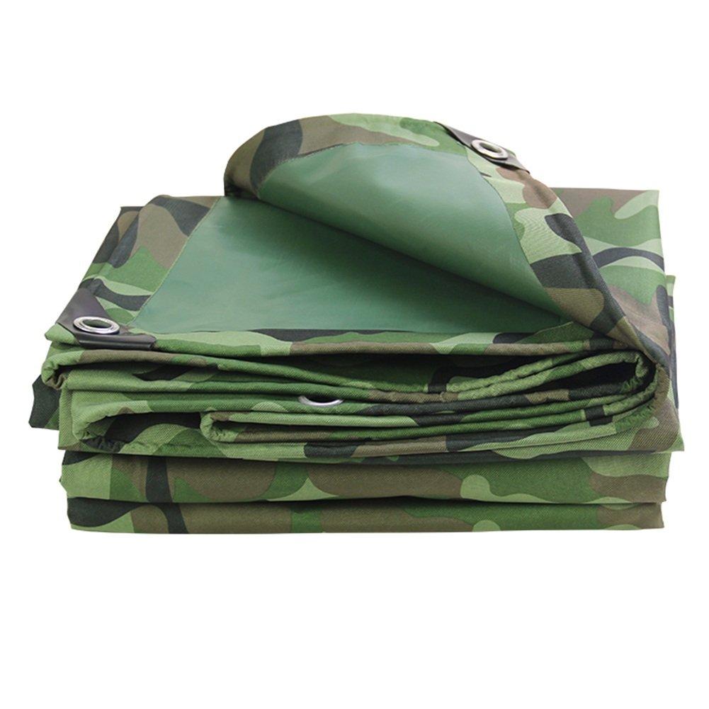 ZEMIN オーニング サンシェード ターポリン 防水 日焼け止め テント シート ルーフ 防風 防塵の 織り ポリエステル、 カモ、 600G/8サイズあり (色 : カモ, サイズ さいず : 2X1.5M) B07D5WK9LH 2X1.5M|カモ カモ 2X1.5M