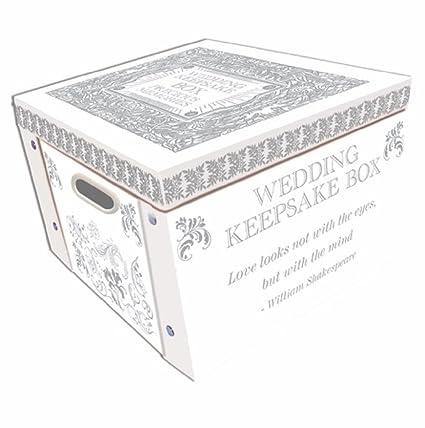 Robert Frederick Caja Plegable de Recuerdos de Boda, plástico