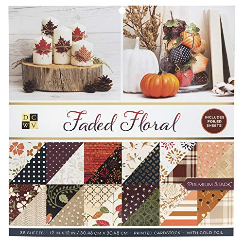 (DCWV 615635 Autumn Delight Cardstock,)
