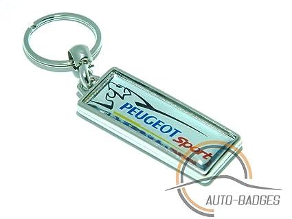 Llavero, diseño de Peugeot Sport Peugeot 5008 307 407 607 Llavero Sport