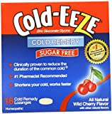 Cold-eeze Cold Remedy Lozenges, Sugar Free Wild Cherry, 18 Count(pack of 3)