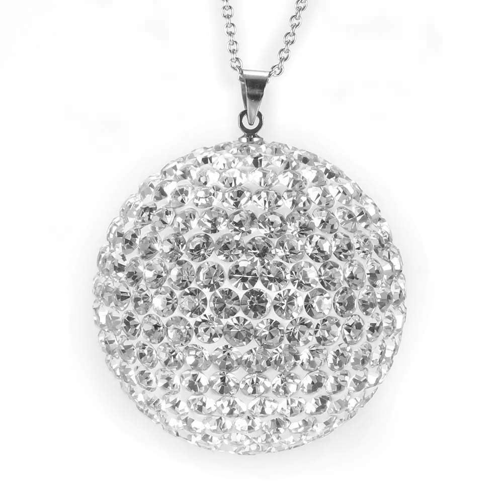 Vvciic Colgante del Coche de Cristal de Diamante de la Bola la decoración del automóvil Espejo retrovisor Fuera de la Florida