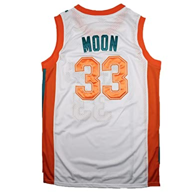 JerseyFame Men s Jersey Jackie Moon  33  quot Flint Tropics quot   Basketball Jersey White S f23cc9924