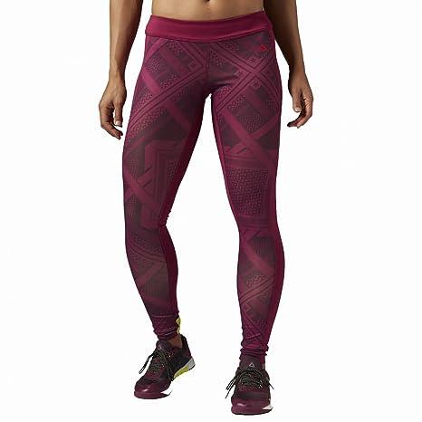 Reebok CrossFit Chase Shemagh – Mallas para mujer Rebel Berry 36
