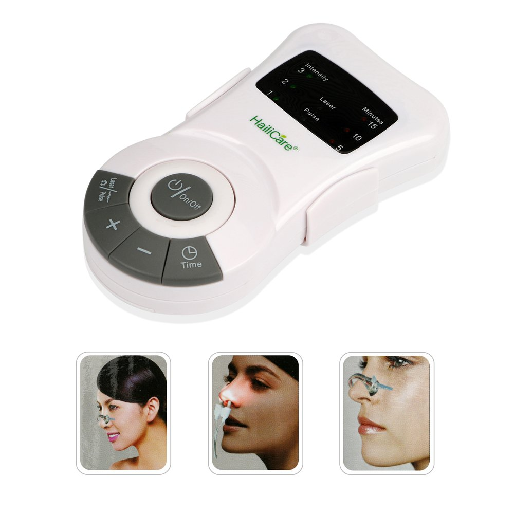 HailiCare Allergy Reliever Allergic Anti-Snore Apparatus Treatment Device Phototherapy