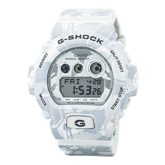 Casio Reloj Digital para Hombre de Cuarzo con Correa en Resina GD-X6900MC7DR: Amazon.es: Relojes