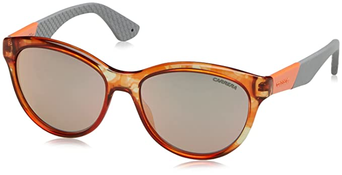 Carrera 5011/S 0J Gafas de Sol, Spotted Orange, 54 Unisex
