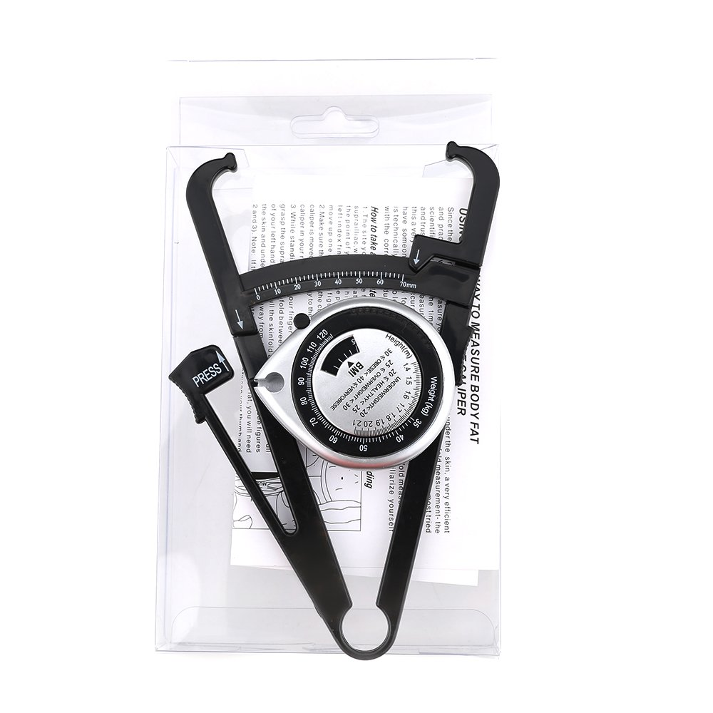 Wintape 150CM Silver Retractable Tape Measure with BMI Dial, Waist Weight Health Measurement, Body Mass Index Wintape Measuring Tape Company